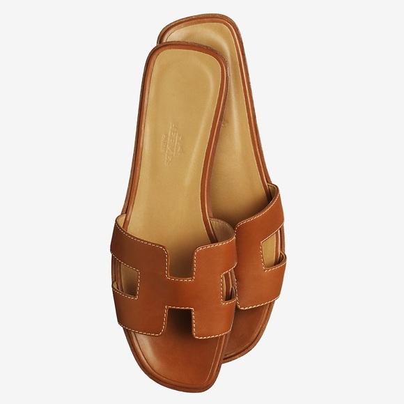 """34713af2c7ff Hermes Shoes - Hermes """"H"""" Oran Lady Shoes"""